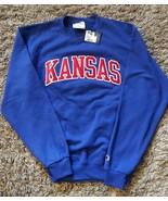 Authentic Champion Kansas Sweatshirt with Embroidered Logo Sz.Medium - $27.23
