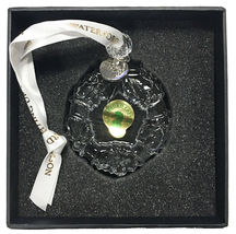 Waterford Crystal 2018 Mini Wreath Christmas Ornament New in Box 40031778 image 5