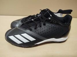Adidas 5-Star Youth Black Night Metallic Footbal Cleats Size 3.5 NEW NWOB DB2591 - $37.05