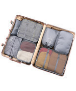 New 8PCS Folding Waterproof Travel Bag Clothes Pouch Luggage Bag Organizer - £41.31 GBP