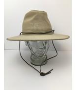 Vintage Henschel USA Safari Hat Paddling Packable Crushable Leather Stra... - $44.50