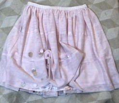 Cat & Jack Girls Pink Tutu Skirt XL New NWT Sequins Extra Large 14/16 - $17.17