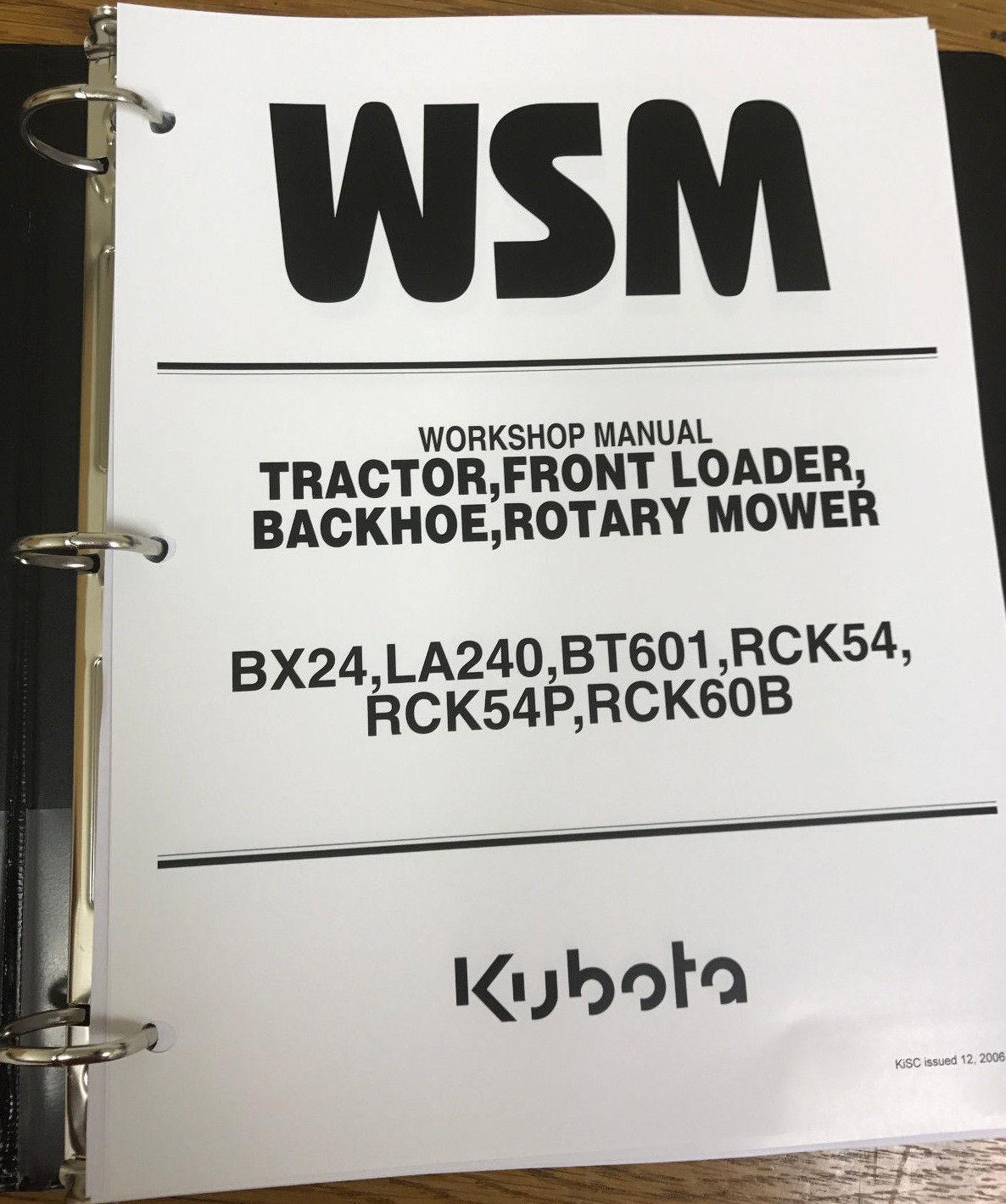 kubota bx24 tractor loader backhoe rotary and 13 similar items rh bonanza com Kubota BX24 Specs Used KUBOTA BX24