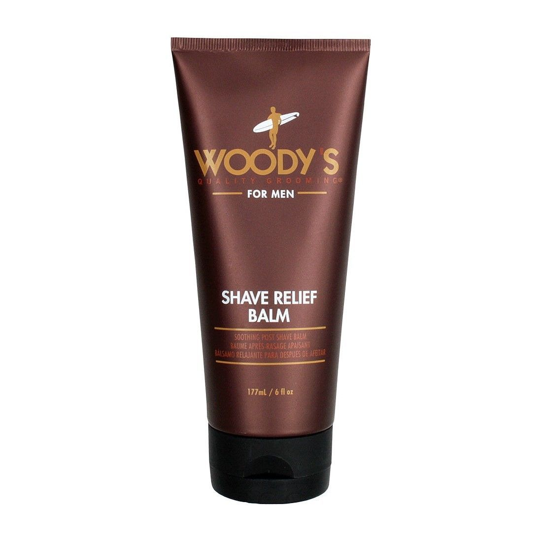 Woody's Shave Relief Balm Soothing Post Shave Balm 177ml 6 fl oz