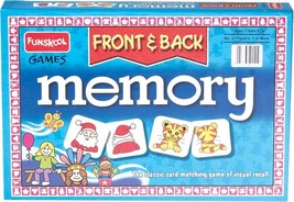 Funskool Memory Front & Back Educational Games Players 2-4 Age 6+ - $12.52