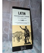 Latin Vocabulary Cards for the Language Student~visual Education Associa... - $18.19
