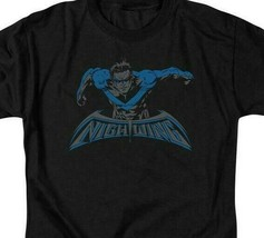 Nightwing t-shirt DC Comics Robin Dick Grayson graphic cotton tee BM2468 image 2