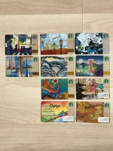 Starbucks Card Area Limited [Old version] Complete 10 Ticket Set For Col... - $125.92