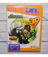 NEW Fisher Price iXL Green Lantern 3D Learning Software Game - $3.99