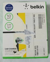 Belkin Car Charger For Samsung Galaxy Tablet, 10 watt - $10.00