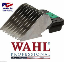 Wahl STAINLESS STEEL Attachment Guide Blade COMB Fit MOST Oster,Andis Cl... - $9.49