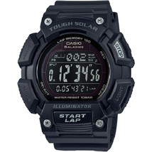 Casio Tough Solar Alarm Digital STL-S110H-1B2 Mens Watch New w/Box - $73.11 CAD