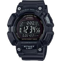 Casio Tough Solar Alarm Digital STL-S110H-1B2 Mens Watch New w/Box - $55.00