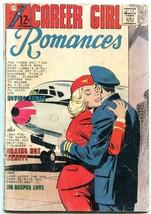 Career Girl Romances #30 1965- Charlton comics- Stewardess cover VG - $50.44