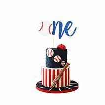 Baseball Cake Topper, Concessions Cake Topper, One Cake Topper, Sports Cake Topp