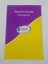 Hooked On Phonics Learn To Read Kindergarten Parents Guide Replacement - $5.89