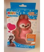 HAPPY SQUIRREL ELECTRONIC INTERACTIVE FINGER PET Pink FUN TOYS FOR KIDS  - $7.43