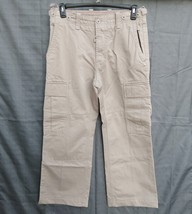GAP 1969 SF CA Heavy Cotton Cargo Pants 32 X 27 1/2 Button Ready For Suspenders - $39.99
