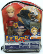 Bratz Lil' Boyz Lakin New In Package Doll but package has some stains on it - $17.59