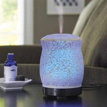Better Homes & Gardens Crackle Mosaic Cool Mist Ultrasonic Aroma Diffuse... - €39,43 EUR