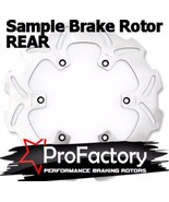 Ktm Sx Exc Mx Gs 125-660 Rear Brake Rotor Disc Pro Factory Braking New - $54.95