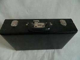 "Mid-Century Wear Best Top Grain Cowhide Black 4.75"" Combo Briefcase - $44.99"