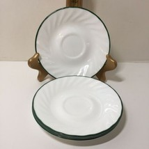 """4 Saucers Calloway Ivy Corelle Corning Ware 6""""  - $9.74"""