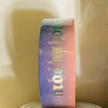 Papergeek Washi Tape Sealed! Read!! One Roll As Shown MOONCHILD Blue Pink Foil image 1