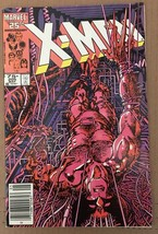 Uncanny X-Men 1st Series #205 1986 VF- 7.5 Condition Wolverine Marvel Co... - $7.27