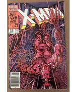 Uncanny X-Men 1st Series #205 1986 VF- 7.5 Condition Wolverine Marvel Co... - $7.27