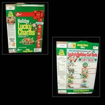 Holiday Lucky Charms Cereal Box Christmas 1990 - $16.99