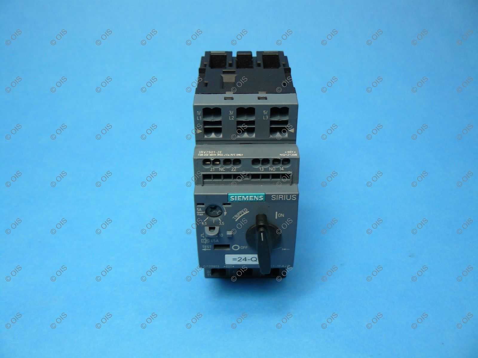 Siemens 3RV20111FA20 Sirius IEC Manual Motor and 33 similar items