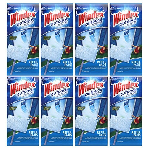 Windex All-In-One Window Cleaner Pads Refill - 2 ct - 8 pk - $61.73