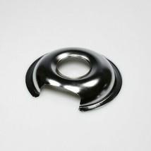 WB32X10012 GE 6 In Burner Drip Bowl Chrome OEM WB32X10012 - $8.86