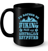 Australian Shepherd Ceramic Mug  Funny Dog Ceramic Mugs for Men  Women - $13.99+