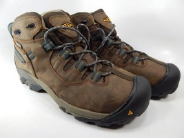 Keen Detroit Mid Top Sz 9.5 2E WIDE EU 42.5 Men's Steel Toe Work Boots 1007004EE