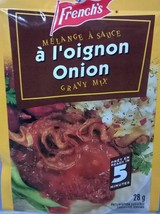 12 French's ONION Gravy Mix 28g Each -From Canada FRESH Delicious - $31.85
