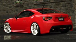 2017 Toyota 86 red rear 24X36 inch poster, sports car - $18.99