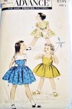 1950's Simplicity Pattern NEW SZ 5 Girl's Dress - $29.00
