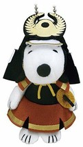 New! Snoopy Military Mascot Doll Chain Tokugawa Ieyasu Peanuts Limited J... - $46.74