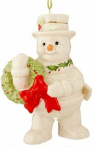 New in Box Lenox Happy Holly Days Ornament (Undated Version) - $22.43