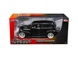 "1939 Chevrolet Master Deluxe Black with baby Moon Wheels ""Showroom Floo... - $36.94"