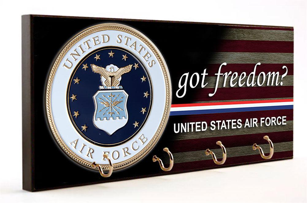 Got Freedom United States Air Force Key Hanger