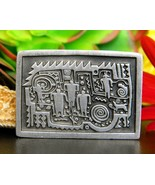 Urban Fetishes Petroglyphs People Alice Warder Seely Pewter Brooch Pin - $13.95