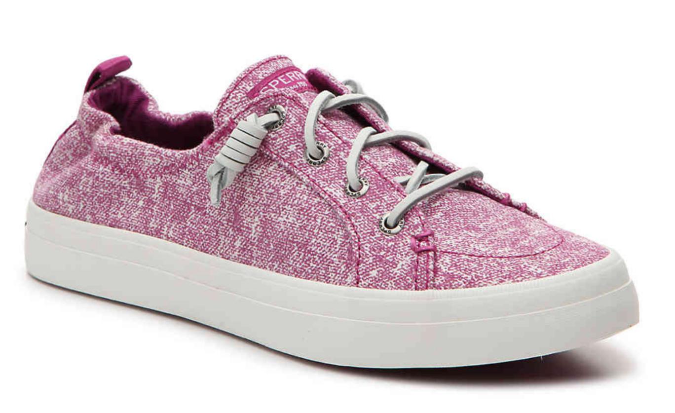 Sperry Top-Sider Mujer Raspberry Crest Ebb Lavado Arena sin Cordones Zapatos Nib