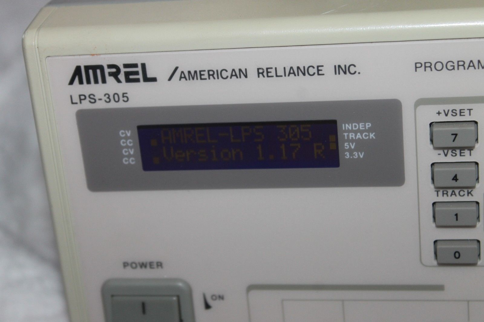 Amrel American Reliance Inc LPS-305 and 50 similar items