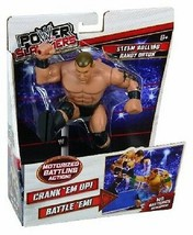 POWER SLAMMERS STEAM ROLLING RANDY ORTON MOTORIZED BATTLING ACTION BRAND... - $14.99