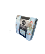 Living Colors Velvet Plush Throw Blanket Supersize 4Ft x 6Ft  Birds Blue... - $12.87
