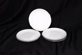 Style House Platinum Ring Bread Plates Lot of 12 - $83.29