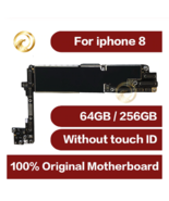 Original unlocke For iphone 8 Motherboard Without Touch ID Black White G... - $196.29+